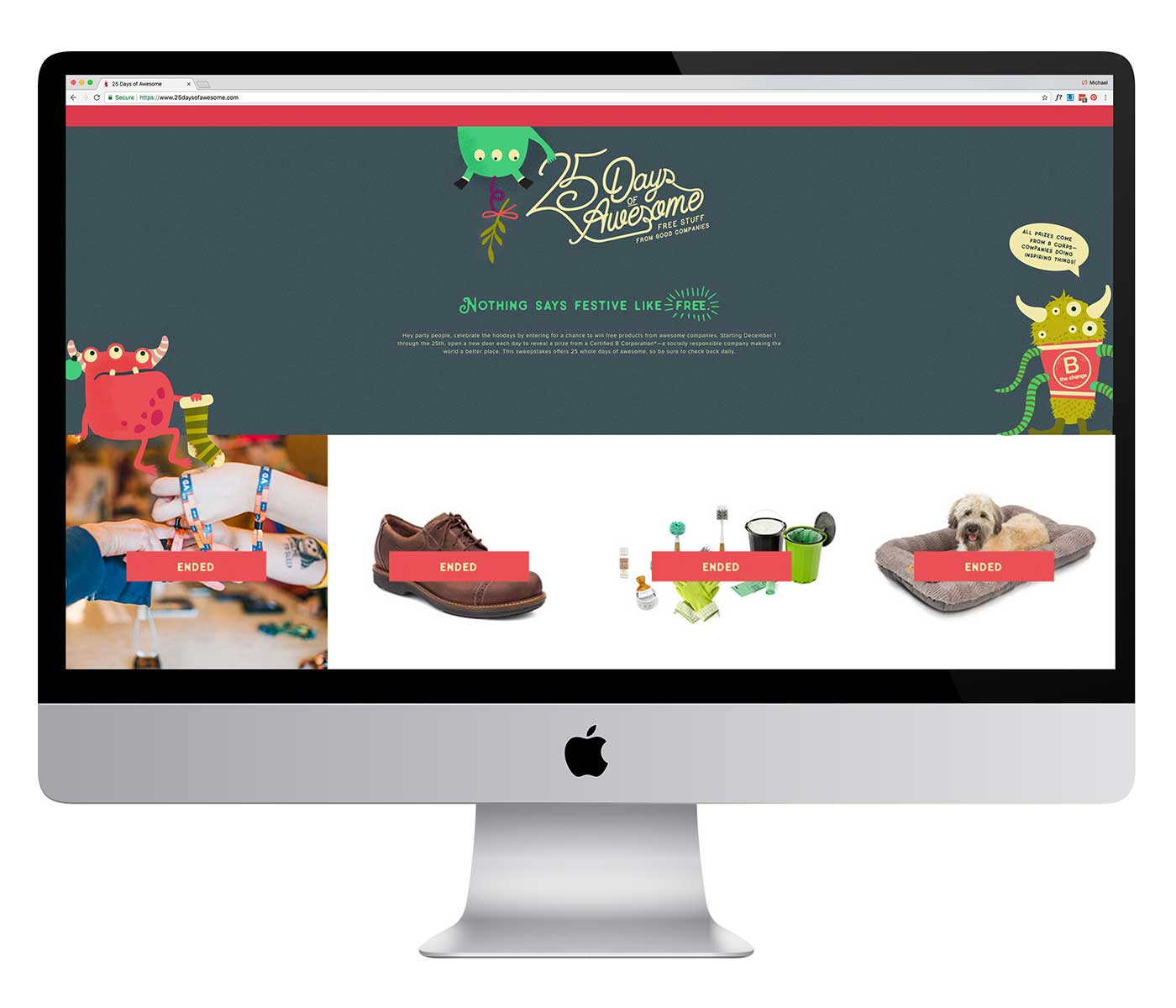 25 Days of Awesome Web Design