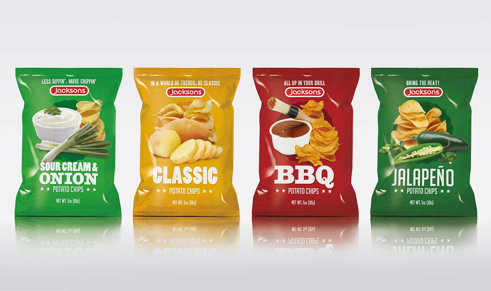 Jacksons - Food Packaging - Retail Food Packaging
