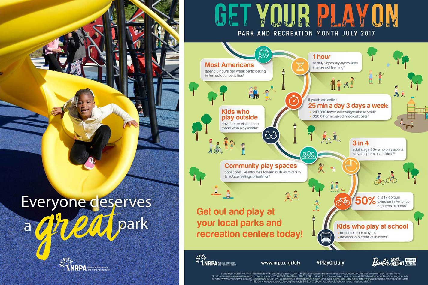 Meet Me At The Park Campaign - The National Recreation and Park Association (NRPA) - Brand Assets
