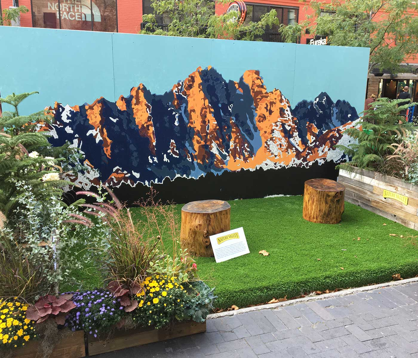 Nature Valley - Parklet - Experiential Advertising