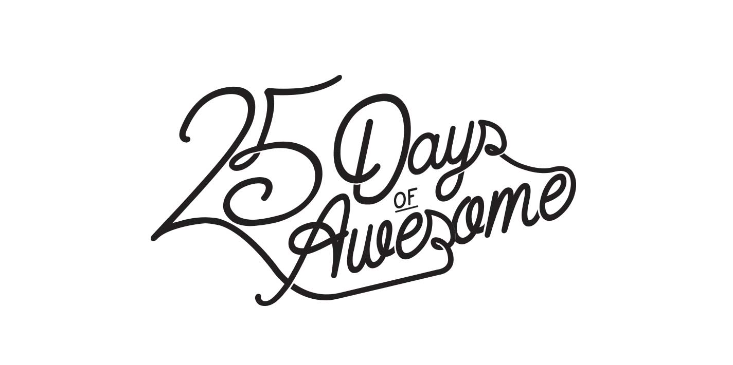 25 Days of Awesome - Brand Identity