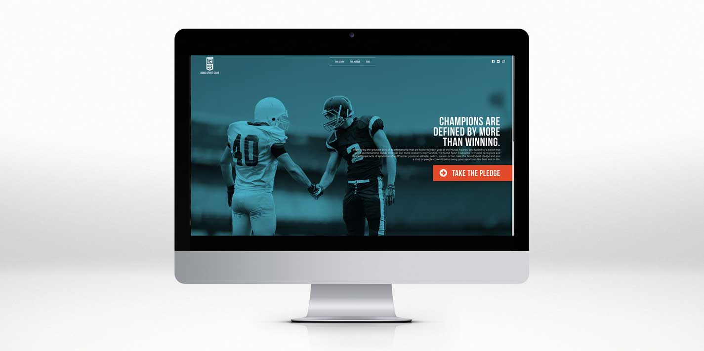 Good Sport Club - Website